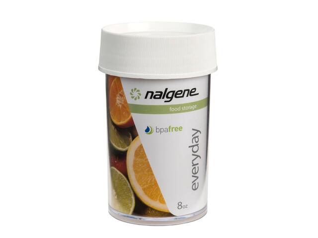 Nalgene Dose Polycarbonat - 250ml blanc/transparent
